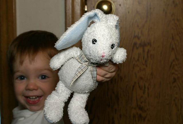 Child with Rabbit